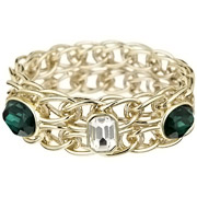 Bijoux Appartement à louer - Bracelet Twin Bangle vert