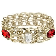 Bijoux Appartement à louer - Bracelet Twin Bangle rouge
