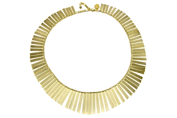 collier fantaisie or