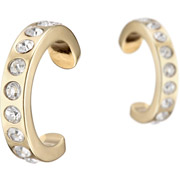 Bijoux Bérénice - Bague d'oreille brillants Tendencia, dorure or