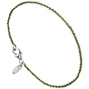 Bijoux Bond - Bracelet chaîne Catch the Rainbow en argent 925, olive, 1.4g