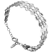 Bijoux Bond - Bracelet 3 rangs Moonlight en argent 925, 6g
