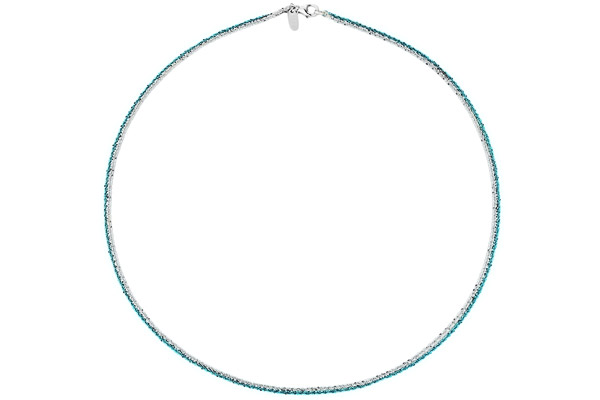 Collier Catch the Rainbow en argent 925, turquoise, 4.8g Bond