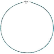 Bijoux Bond - Collier Catch the Rainbow en argent 925, turquoise, 4.8g