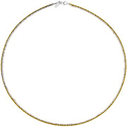 Bijoux Bond - Collier Catch the Rainbow en argent 925, doré, 4.8g