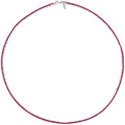 Bijoux Bond - Collier Catch the Rainbow en argent 925, rose, 4.8g