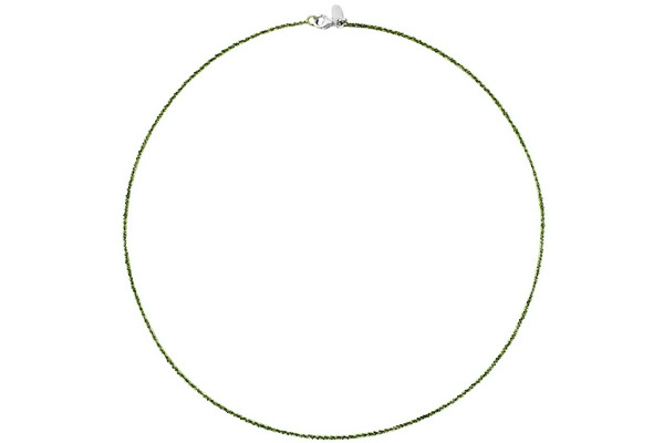 Collier Catch the Rainbow en argent 925, olive, 2.6g Bond
