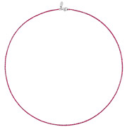 Bijoux Bond - Collier Catch the Rainbow en argent 925, rose, 2.6g