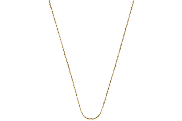 Collier Catch the Rainbow en argent 925, doré, 2.6g Bond
