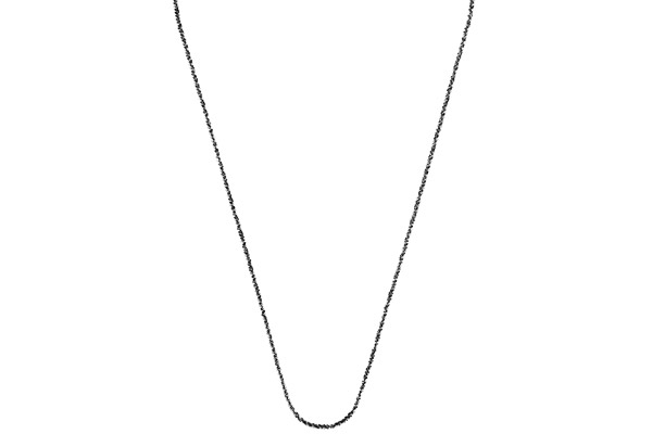 Collier Catch the Rainbow en argent 925, noir, 2.6g Bond
