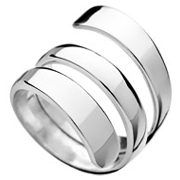 Bague spirale argent - Taille 54 Canyon
