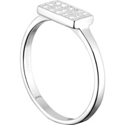 Bijoux Canyon - Bague recatangle en argent 925 passivé, brillant, 2g, T56