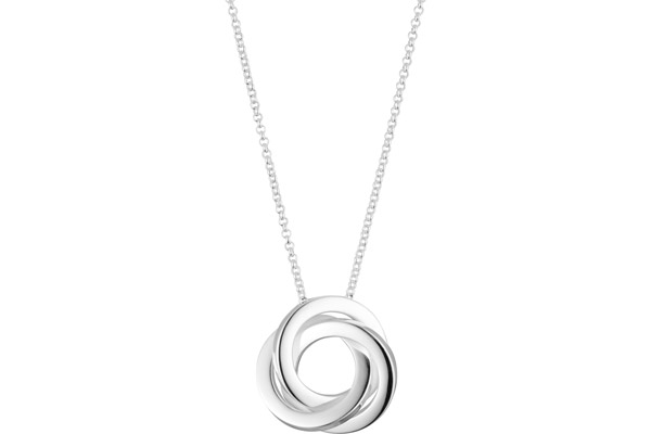 Collier en argent 925, 7.85g Canyon