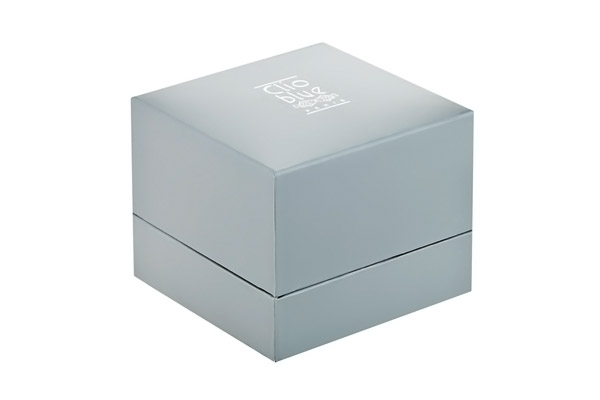 Bagues à superposer en argent 925 rhodié, brillant, 10.2g, T56 Clio Blue, packaging