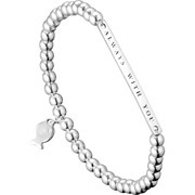 Bijoux Clio Blue - Bracelet perle 'Always with you' Christine en argent 925, 4.4g