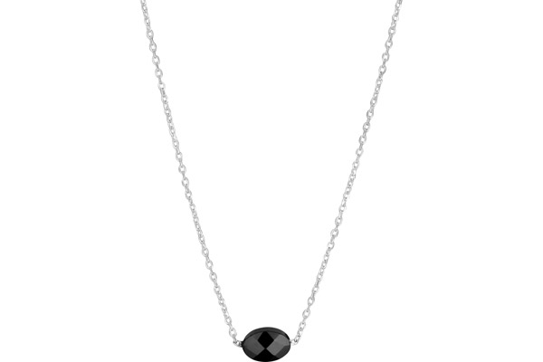 Collier Limited Edition en argent 925, Agate, 1g Clio Blue