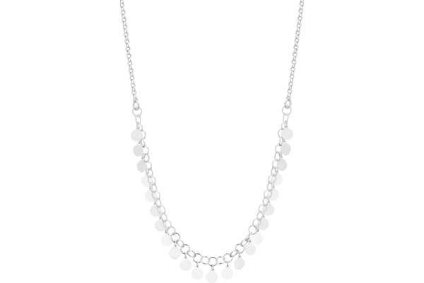 Collier Galaxie en argent 925, 4.40g Clio Blue