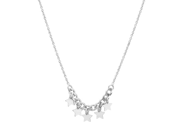 Collier Galaxie en argent 925, 4.13g Clio Blue