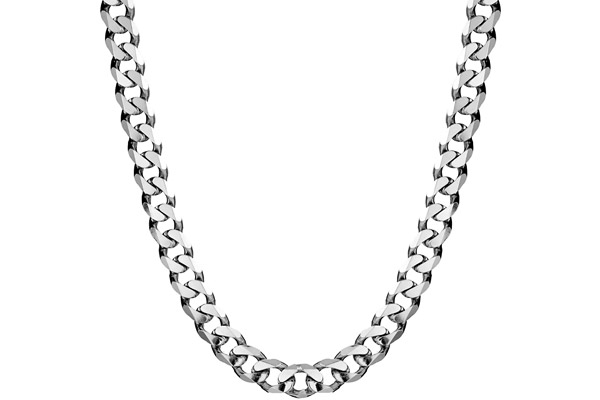 Gros collier maille gourmette