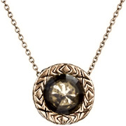 Bijoux House of Harlow 1960 - Collier Olbers Paradox, dorure or rose