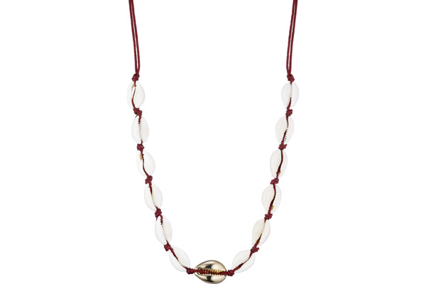 Collier ras de cou, Coquillage, or Hypnochic