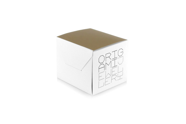 Sautoir Pégase argent Origami Jewellery, packaging