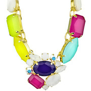 Bijoux Philippe Ferrandis - Collier sertis Candy Color multicolore