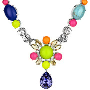 Bijoux Philippe Ferrandis - Collier sertis Bolly Girl multicolore
