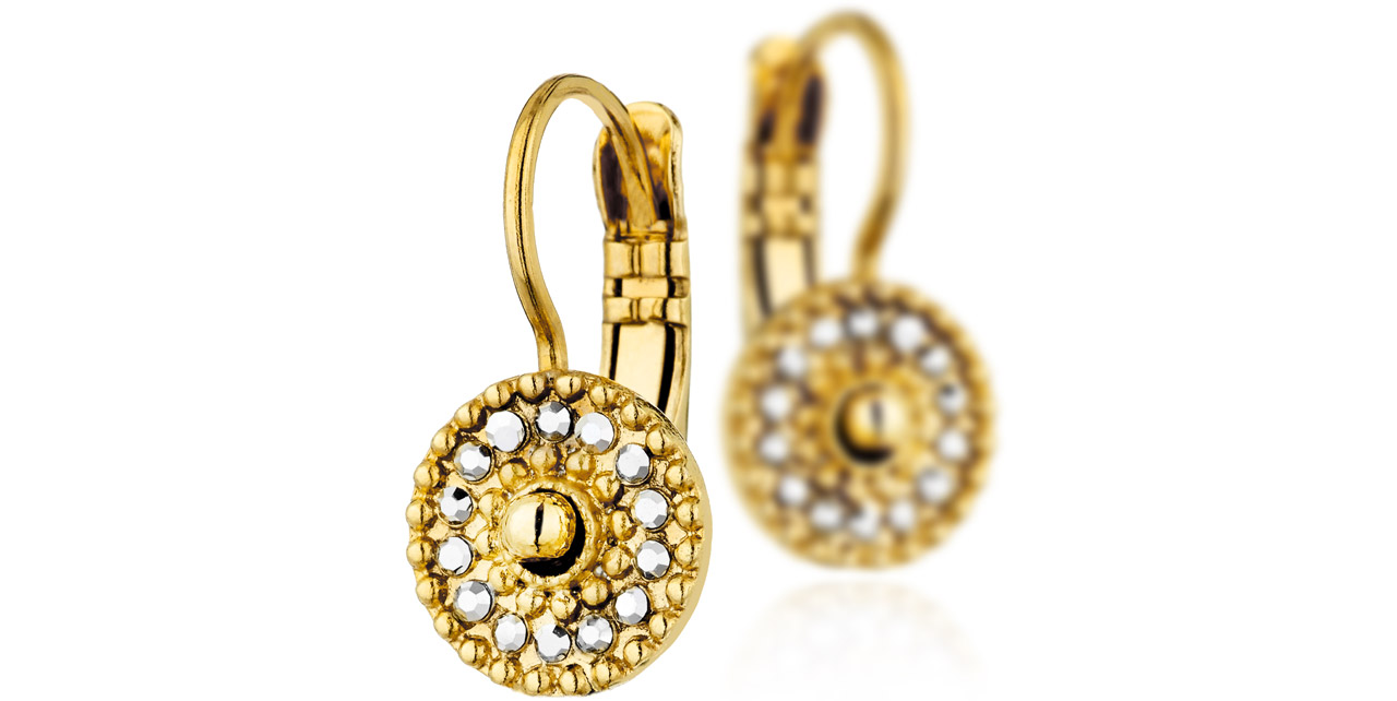 CheyenneDorure D'oreilles Carats Or 18 Boucles Dormeuses 9H2IDEYW