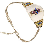 Bijoux Satellite - Bracelet chaîne Dakota, dorure or 14K