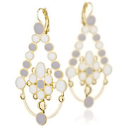 Boucles d'oreilles Elsewhere Gold Skalli
